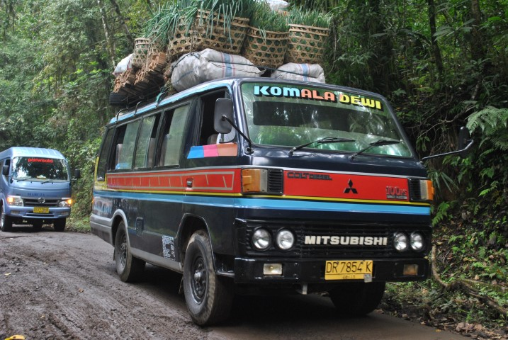mount rinjani transport
